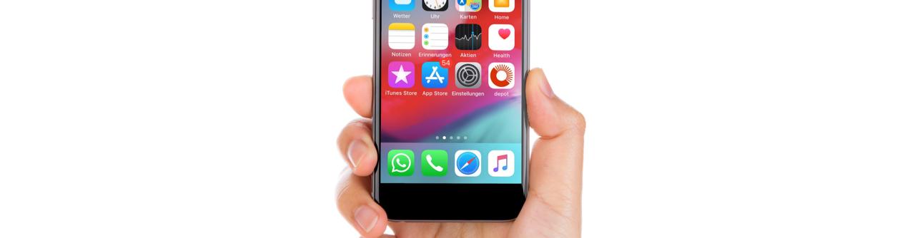 Ressourcen einstellen per Smartphone